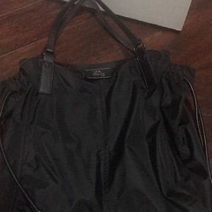 Burberry Buckleigh Black Nylon Tote